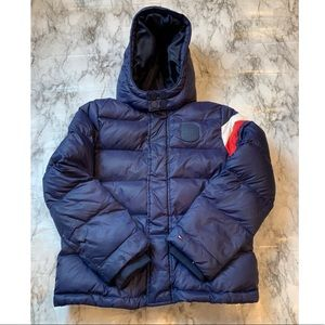 Tommy Hilfiger Down Feather Filled Puffer Coat Kid